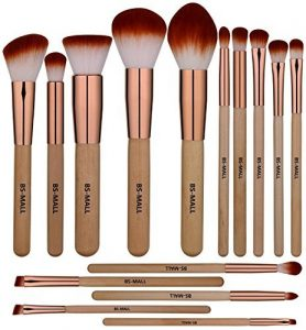 BS-MALL Makeup Brush Set 15 pcs