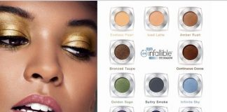 How to apply L'Oreal Infallible Eyeshadow